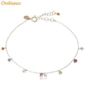 Orobianco オロビアンコ ブレスレット ORGB001 K10ゴールド/天然ブルートパーズ 在庫セール|pre-ma