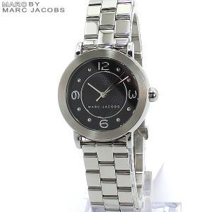 マークジェイコブス レディース腕時計 MJ3490 Riley 28mm ステンレス シルバー/ブラック|pre-ma