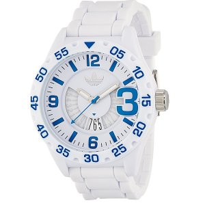 ADIDASアディダス 腕時計  ADH3012 ニューバーグ ホワイト/ブルー メンズ|pre-ma