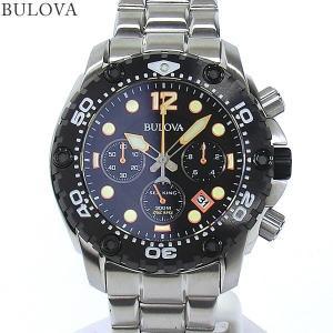 ブローバ BULOVA メンズ 腕時計 98B244  SEA KING UHF クロノグラフ クォーツ ステンレス  【新品アウトレット】|pre-ma