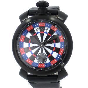ガガミラノ GaGa MILANO 腕時計 5012.LAS VEGAS 03 ラスベガス・ダーツ 48mm 手巻き式 【アウトレット訳あり】|pre-ma