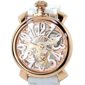 【アウトレット特価】ガガミラノ GaGa MILANO 腕時計 5311.01 MANUALE 48MM スケルトン ローズゴールド|pre-ma