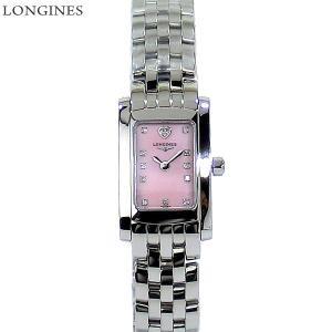 LONGINES ロンジン 腕時計 レディース  L5.158.4.93.6  ドルチェヴィータ スクエア ピンクシェル ダイヤモンド【新品アウトレット特価】|pre-ma