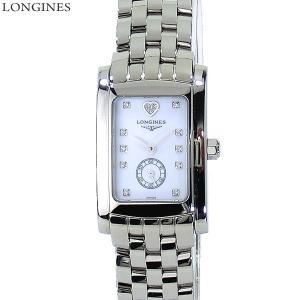 LONGINES ロンジン 腕時計 レディース  L5.155.4.92.6  ドルチェヴィータ スクエア ホワイトシェル ダイヤINDEX 【アウトレット特価】|pre-ma