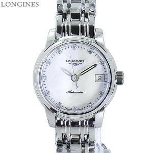 LONGINES ロンジン 腕時計 レディース  L2.263.4.87.6  サンティミエ ダイヤモンド インデックス 自動巻 26mm 【アウトレット特価】|pre-ma