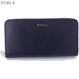 FURLA フルラ 長財布 ラウンドファスナー BABYLON XL / 903614 PR82 B30 DRS ネイビー 決算セール|pre-ma