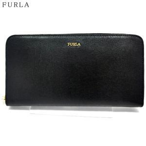 FURLA フルラ 長財布 ラウンドファスナー BABYLON XL / 921792 PS52 B30 O60  ONYX /ブラック|pre-ma
