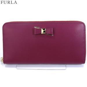 FURLA フルラ 長財布 ラウンドファスナー ASIA XL / 903446 PR91 100 L23 AMARENA パープル系【アウトレット-B2】|pre-ma