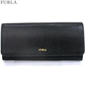 FURLA フルラ 長財布 BABYLON XL BIFOLD / 922661 PU02 B30 O60  ONYX /ブラック 【アウトレット展示品】|pre-ma