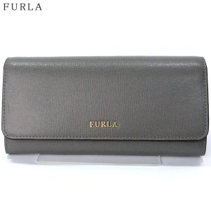 【アウトレット訳あり-B1】FURLA フルラ 長財布 BABYLON XL BIFOLD / 903666 ARGILLA ダークグレー|pre-ma