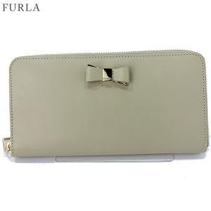 FURLA フルラ 長財布 ラウンドファスナー ASIA XL / 903445 PR91 100 CT6 CRETA クリームベージュ 【新品アウトレット-K07】|pre-ma