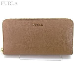 FURLA フルラ 長財布 ラウンドファスナー BABYLON XL / 871015 PR82 B30 CPJ CAPPUCCIN ベージュ系 決算セール|pre-ma