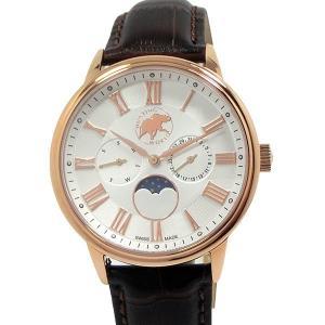 ハンティングワールド メンズ 腕時計 HWM010PWH ムーンフェイズ クォーツ 40mm  正規品|pre-ma