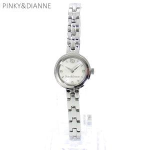 PINKY&DIANNE ピンキー&ダイアン レディース 腕時計 PD004SWH  シルバー