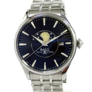 BALL ボールウォッチ 腕時計 トレインマスター ムーンフェイズ NM3082D-SJ-BK メンズ 自動巻  新品 決算SSP|pre-ma
