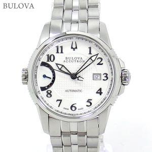 ブローバ BULOVA 腕時計 63B161 自動巻 キャリブレーター 歩度調整機能 40mm ステンレス 新品特価セール|pre-ma