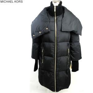 マイケルコース MICHAEL KORS ダウンジャケット/ダウンコート レディース 77G3635M82 001/ブラック サイズ(S)【アウトレット特価】|pre-ma