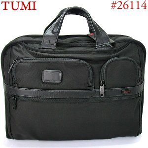 TUMI トゥミ  ビジネスバッグ/ブリーフケース ALPHA2 26114 D2  ブラック スリムタイプ 即納