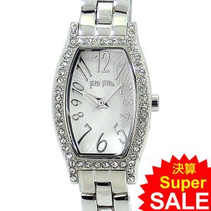 フォリフォリ Folli Follie 腕時計 レディース WF8A026BPS-XX トノー シルバーステンレス 新品 決算セール|pre-ma