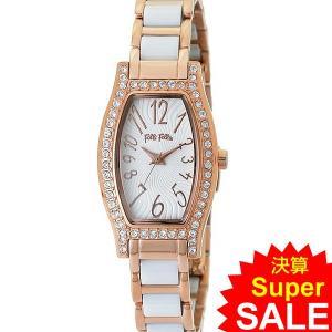 フォリフォリ Folli Follie 腕時計 レディース WF8B026BPW-XX トノー ローズゴールド/セラミック DEBUTANT 新品 特価セール|pre-ma