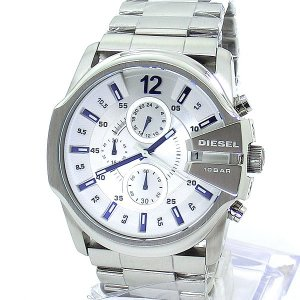 DIESEL ディーゼル 腕時計 メンズ DZ4181 クロノグラフ シルバー 特価セール