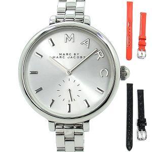 マークバイマークジェイコブス MARC BY MARC JACOBS 腕時計 MJ9722 SALLY レディース 36 シルバー 替えベルト2本付|pre-ma