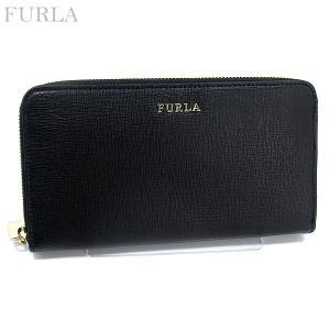FURLA フルラ 長財布 ラウンドファスナー BABYLON XL PN08 B30 755244 ブラック|pre-ma