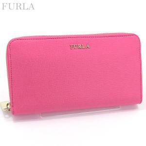 FURLA フルラ 長財布 ラウンドファスナー BABYLON XL PN08 B30 826454 ROSE ピンク|pre-ma