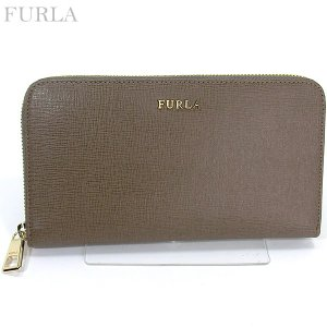 FURLA フルラ 長財布 ラウンドファスナー BABYLON XL / 851526 PR70 B30  DAINO/ベージュブラウン|pre-ma