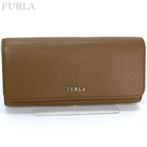 FURLA フルラ 長財布 BABYRON XL BIFOLD / 850689 PN84 B30 NC7 NOCE/キャメル 【箱不良アウトレット】|pre-ma