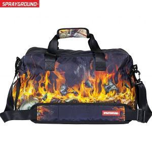 スプレーグラウンド SPRAY GROUND  ダッフルバッグ/ボストン D068  FIRE MONEY DUFFLE|pre-ma