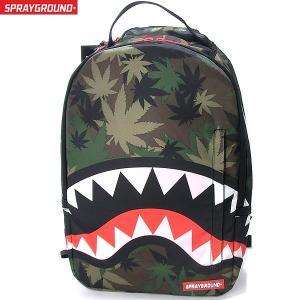 スプレーグラウンド SPRAY GROUND  リュック/バックパック B463 迷彩 WEED SHARK BACKPACK