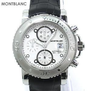 MONTBLANC モンブラン 腕時計 メンズ SPORT 104280 スポート オートマティック  クロノグラフ 2年保証|pre-ma