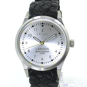 TRIWA トリワ 腕時計 ランセン 38mm LAST102-MB010112 ブラック レザーベルト ユニセックス|pre-ma