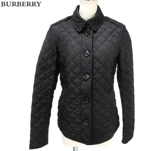 BURBERRY  BRIT バーバリー キルティングジャケット レディース 3976170 1005 ブラック サイズ(XS) アウトレット|pre-ma
