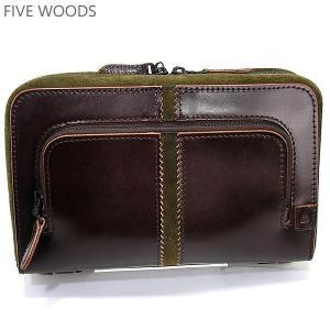 ファイブウッズ FIVE WOODS クラッチバッグ TED'S 39004 ボルドー  メンズ|pre-ma