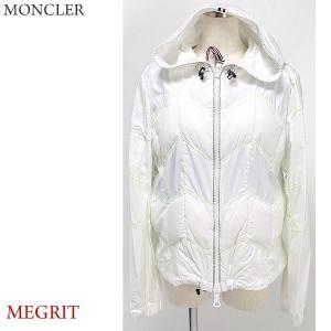 モンクレール グルノーブル マウンテンパーカー  レディース 軽量ダウン MONCLER MEGRIT  035/ホワイト  サイズ(4)|pre-ma