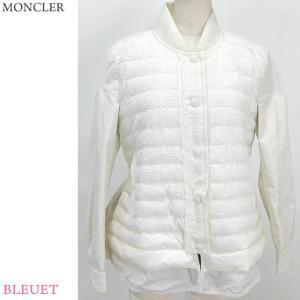 【アウトレット展示品】モンクレール ライト ダウンジャケット レディース BLEUET 035/ホワイト サイズ(1/S) MONCLER|pre-ma
