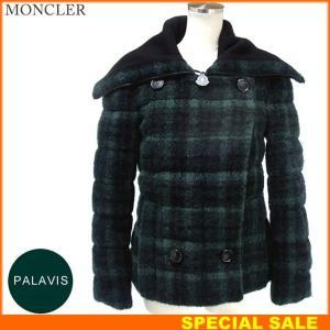 モンクレール  PALAVIS ダウンジャケット レディース 865/グリーン系  サイズ(4) 現品限り  MONCLER【アウトレット-n37】|pre-ma