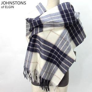 Johnstons ジョンストンズ カシミア ストール WA000056 RU5380  Knockmore 大判 195cm×74cm|pre-ma