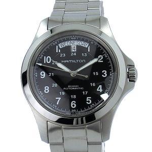 【アウトレット展示品】ハミルトン HAMILTON カーキ キング H64455133 メンズ腕時計 自動巻  40mm 限定1点 pre-ma