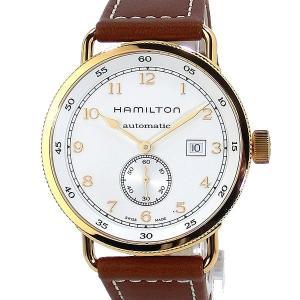 ハミルトン HAMILTON カーキ ネイビー パイオニア 腕時計 H77745553 自動巻 PG/WH  43mm 新品 決算SSP|pre-ma