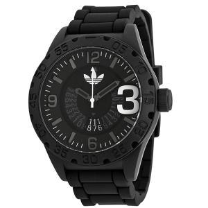 ADIDASアディダス 腕時計  ADH2963 ニューバーグ ブラック ラバー メンズ 決算セール|pre-ma
