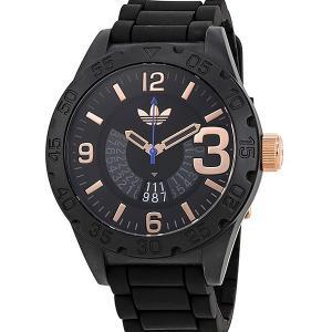 ADIDASアディダス 腕時計  ADH3082 ニューバーグ ブラック ラバー PG メンズ 決算セール|pre-ma