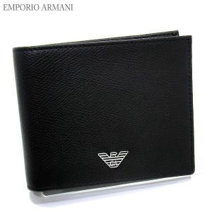 エンポリオ アルマーニ 財布 二つ折り YEM122 YAQ2E 81072 メンズ EMPORIO ARMANI|pre-ma