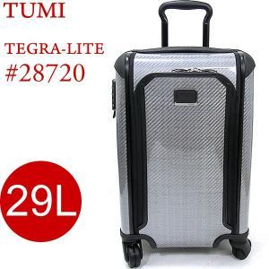 TUMI トゥミ  キャリーケース TEGRA-LITE 28720 TG  29L/56cm シルバー/グラファイト 4輪 機内持ち込み可|pre-ma
