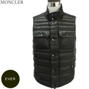 モンクレール ダウンベスト EVER メンズ  826 カーキ サイズ(2)限定 軽量ダウン  MONCLER【アウトレット-H07】|pre-ma