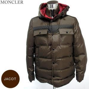 【アウトレット訳あり-n24】モンクレール JACOT ダウンジャケット メンズ 258 ブラウン サイズ(3) 現品限り  MONCLER|pre-ma