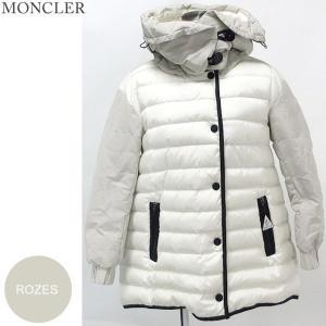 モンクレール  ROZES ダウンジャケット フィッシュテール レディース 037/オフホワイト サイズ(1)限定  MONCLER【アウトレット-n44】|pre-ma