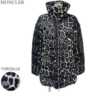 モンクレール TORCELLE ダウンコート レディース レパード 豹柄 999 サイズ(1)MONCLER【アウトレット-n46】|pre-ma